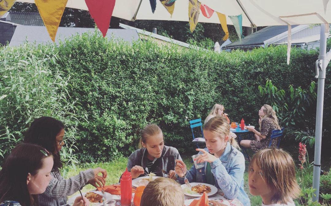 Children Cooking for Children